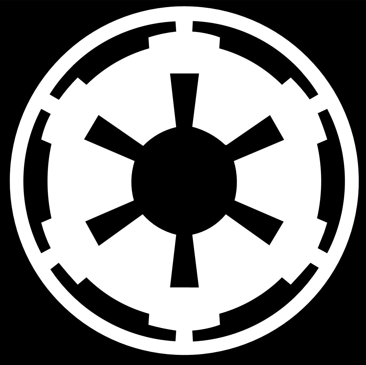 star wars imperial vinyl decal sticker any color. Black Bedroom Furniture Sets. Home Design Ideas