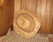 Straw Cowgirl Hat for your 18 inch American Girl Doll