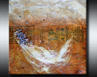 Art For Charity - Abstract Expressions Modern Art Paintings - Comfort