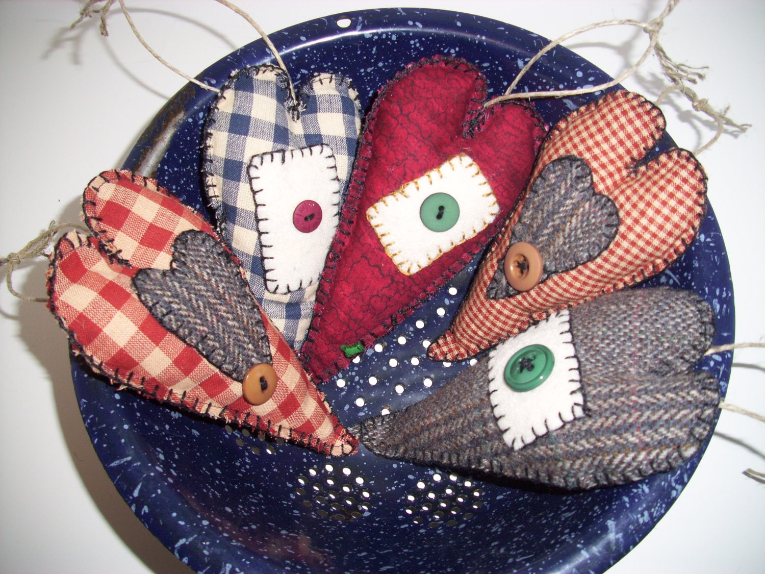 Handmade Primitive Rustic Country Christmas Ornaments Scented