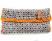 Crocheted Make up Bag