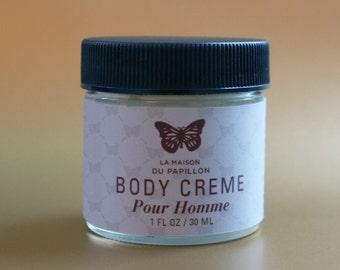 Pour Homme Body Creme 1oz.