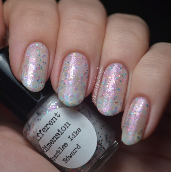 Sparkles like Edward -  Nail Polish 15ml (.5oz) (re-release)