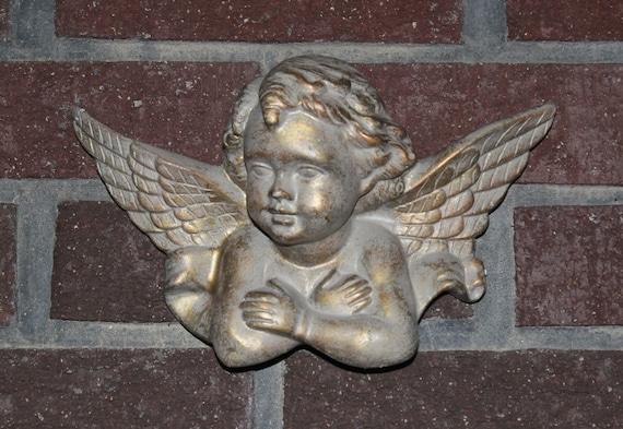 Vintage Patina Angel / Wall hanging