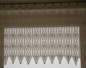 Crochet Curtain Lace Window Valance