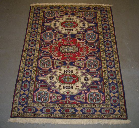 1970s Hand-Knotted Ardabil Persian Rug