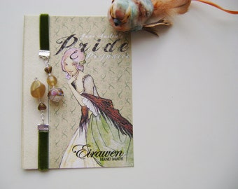 Bookmark vintage charm ( green)