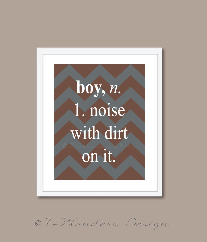 Wall Decoration Definition : Childrens boys wall art definition boy noise by