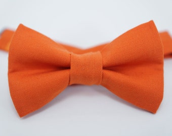 Bow Tie - Orange Bowtie