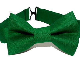 Bow Tie - Dark Green Bowtie