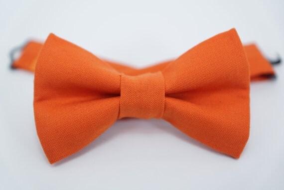 Bow Tie - Orange Bowtie