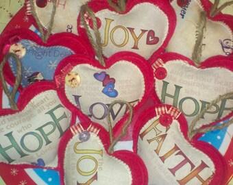 sented handmade christmas decorations