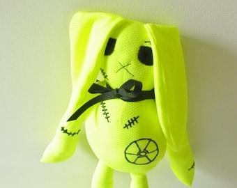 Zombie Doll, Zom-Zom, Radioactive Neon Yellow Bunny Doll