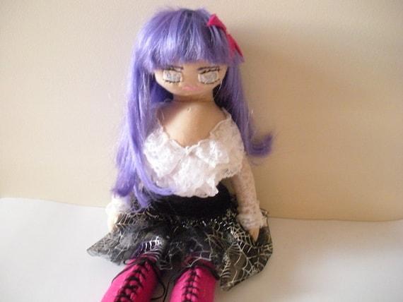 Handmade Goth Doll, Visual Kei Fashion Doll, Doll For Girls, Teens, Women