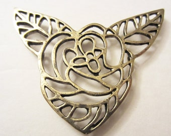 Vintage Rose Necklace Connector