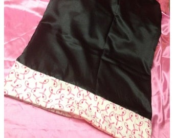 E Dreams for the Cure-Breast Cancer Donation - Onyx Ribbon Dreamer Pillowcase