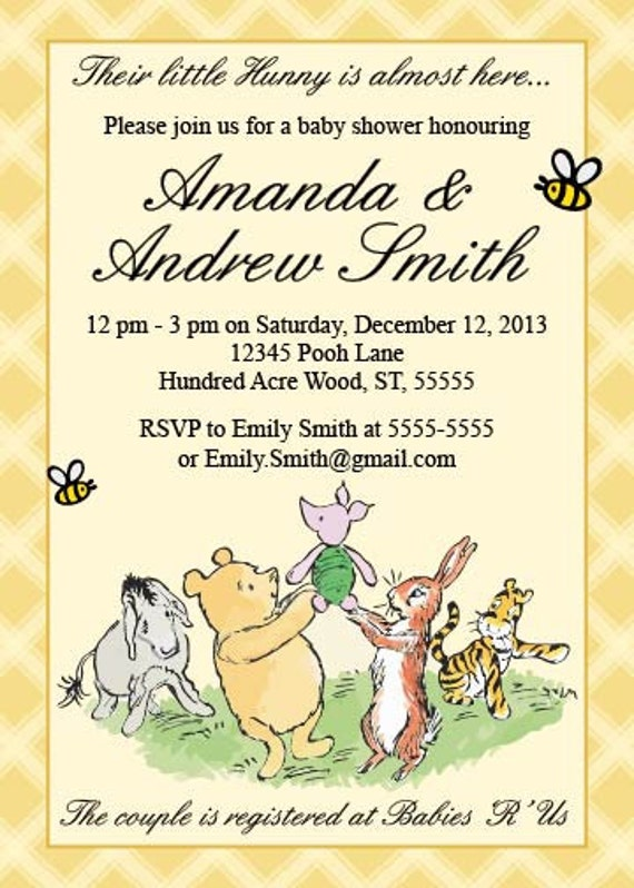 il_570xN.379555775_7u8p classic winnie the pooh baby shower invitation printable,Vintage Winnie The Pooh Invitations