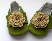Green Lilly Pad Shoes