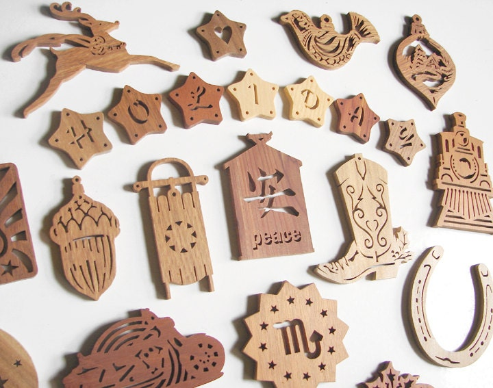 75 scroll saw christmas holiday ornament patterns by mysticmare