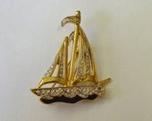 Nautical Diamante Brooch