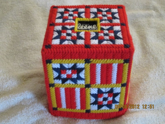 SUMMER/JULY 4TH Boutique Tissue Box Cover