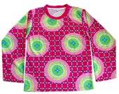 Stylish Childrens Clothing - Long Sleeved Girls Pink Overload Shirt - Winter Fashion