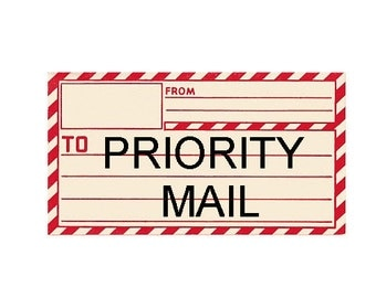 Priority Mail Upgrade to USPS Priority Mail Ship & Rush Order