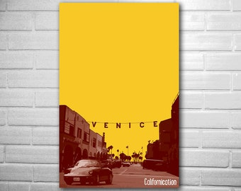 SHOWTIME Series Californication poster fan art minimalist poster geekery
