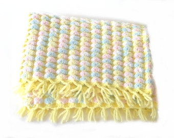 Knitting Pattern For Popcorn Baby Blanket : BABY BLANKET POPCORN STITCH PATTERNS Sewing Patterns for Baby