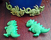 Custom Order For Kinsey Collins (T.Rexx Dino & Dragon 00G Gauges)