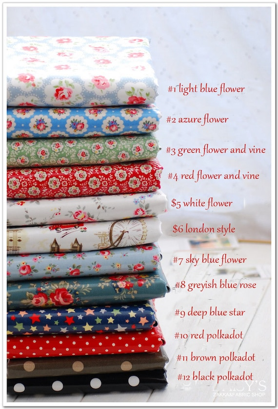 items similar to waterproof printed cotton canvas flower fabric by the yard for handmade bag. Black Bedroom Furniture Sets. Home Design Ideas