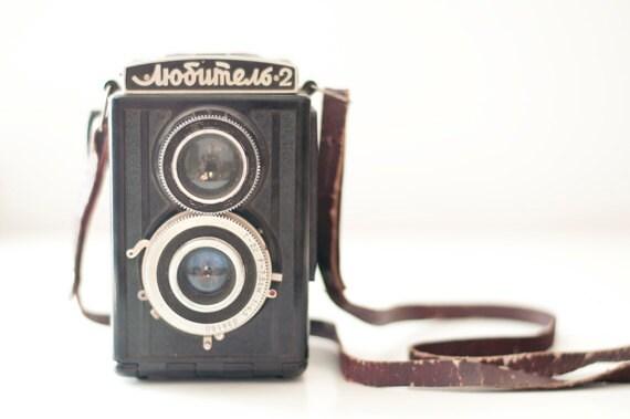 Vintage Medium Format Camera - Lubitel 2