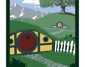 Travel Middle Earth: Hobbiton
