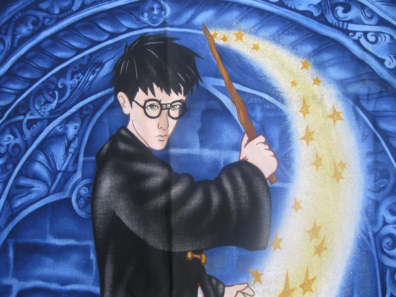 Harry Potter Fabric Harry Potter Quilt Panel Harry Potter