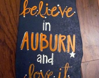 Collegiate Auburn University Sign