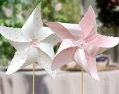Pink or Blue Pinwheels: DIY Printable File