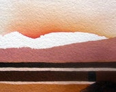 "Zen Impressions Series    ""Suddenly Sunset""   -    Original, One of a Kind"