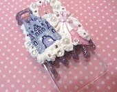 Simple Princess Case with Purple Drip Iphone 4/4s