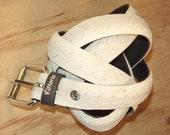 Bicycle Tire Belt - White Road Bike Tread - No. 147