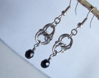 Celtic Twist Chainmaille Earrings