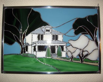 Custom Stained Glass Panel - Custom Stained Glass Window - Custom Stained Glass Suncatcher