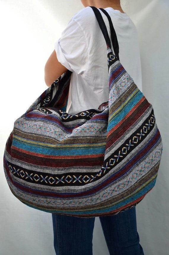 Hmong Hippie Gypsy Boho Hobo Backpack Messenger Bag M200 (RESERVED)