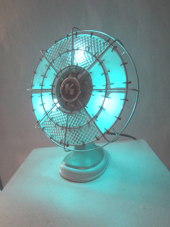 Beautiful Homemade Lamps : Items similar to homemade upcycled vintage art deco fan