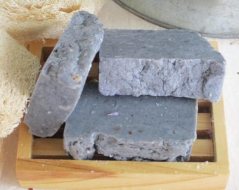 Citrus charcoal is a great detoxifying soap that has the lovely sent of bergamot and orange.