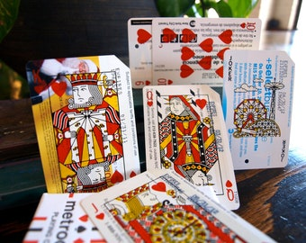 Metrodeck Playing Cards: Complete Deck