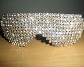 Rhinestone Studded Sunglasses by C. Walthall