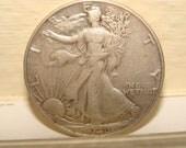 American Silver Half Dollar Walking Liberty 1946
