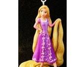 RAPUNZEL TANGLED Princess Walt Disney Flynn Pascal Movie PVC Ornament Toy Cartoon Figure Figurine Christmas Holiday Decoration