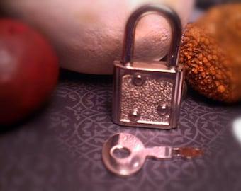 Small Jewelry Padlock