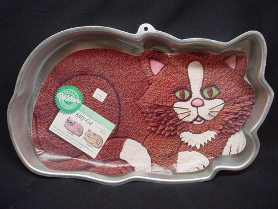 Wilton Kitty Cat Cake Pan Instructions